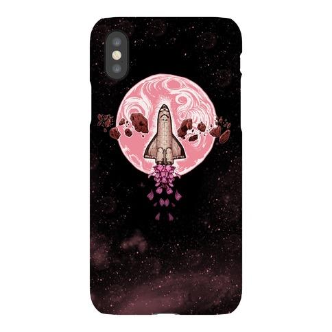 Spaceship Exploration Phone Case