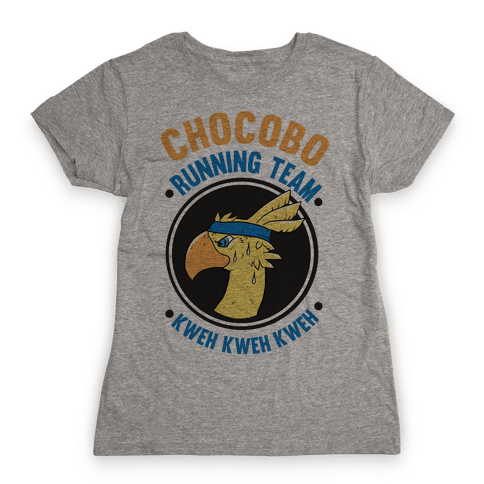 Chocobo Running Team Kweh! Womens T-Shirt