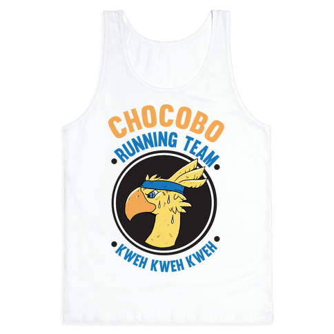 Chocobo Running Team Kweh! Tank Top