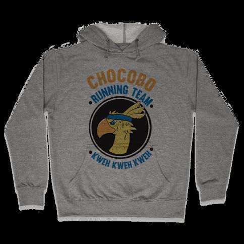 Chocobo Running Team Kweh! Hooded Sweatshirt