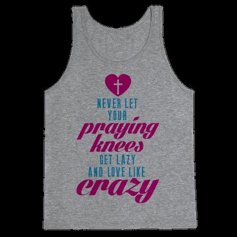 Praying Knees Tank Top
