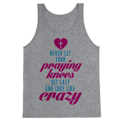 Praying Knees Tank Top