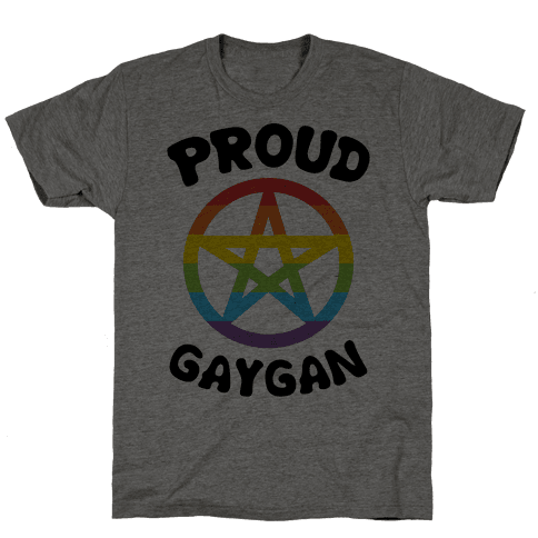 Proud Gaygan Mens T-Shirt