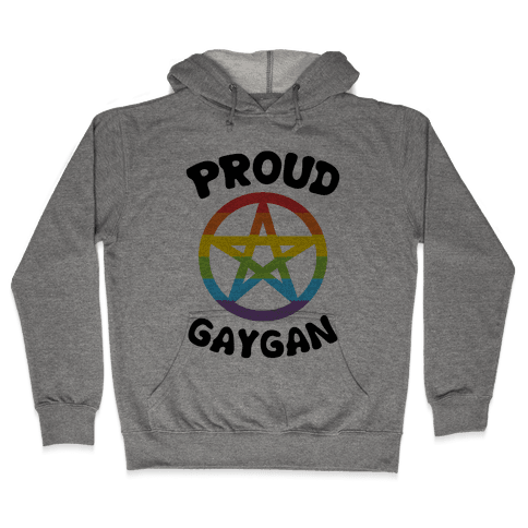 Proud Gaygan Hooded Sweatshirt