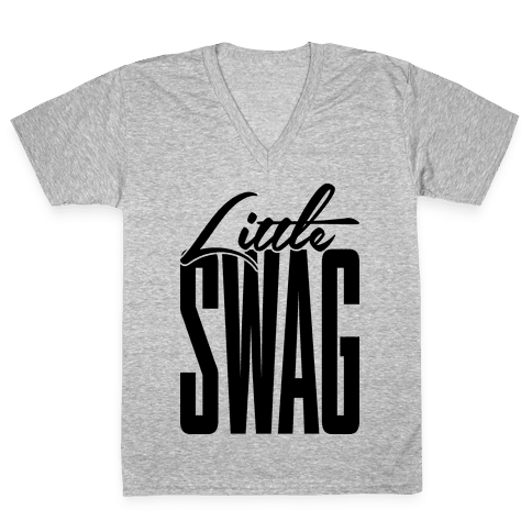 Little Swag V-Neck Tee Shirt