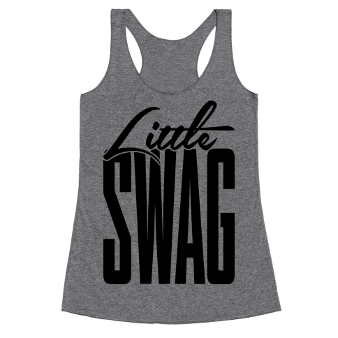 Little Swag Racerback Tank Top