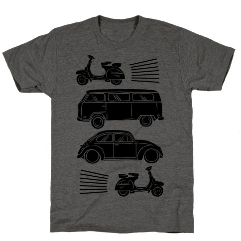 The 1960's Hippie Traveler T-Shirt