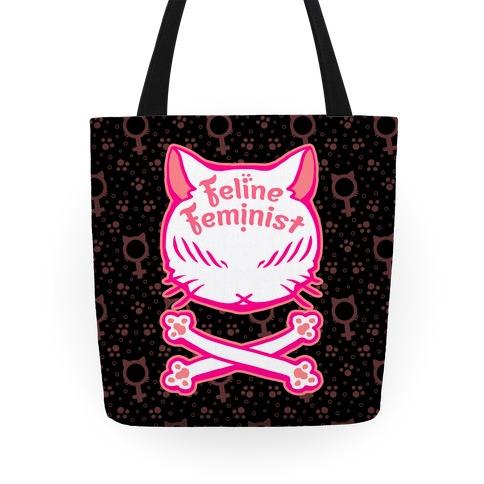 Feline Feminist Tote