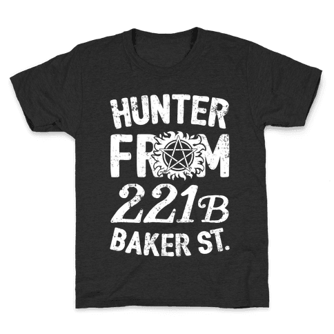 Hunter From 221B Baker St. Kids T-Shirt