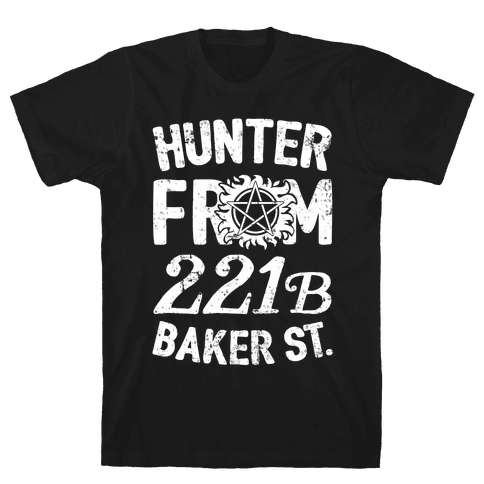 Hunter From 221B Baker St. Mens T-Shirt