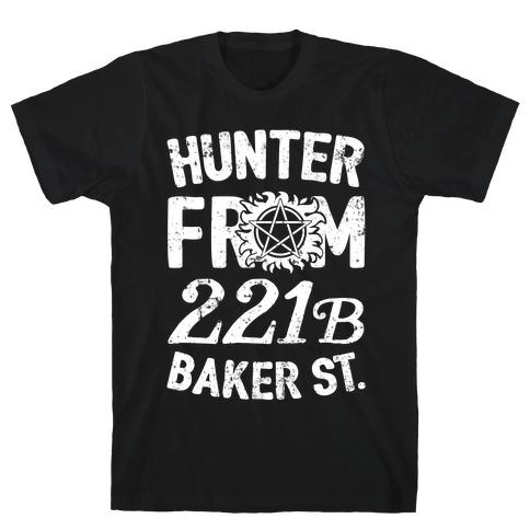 Hunter From 221B Baker St. Mens T-Shirt