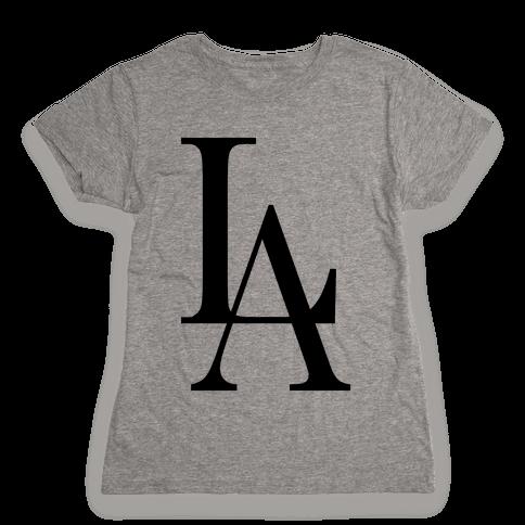 LA (Tank) Womens T-Shirt