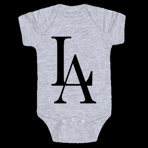 LA (Tank) Baby Onesy