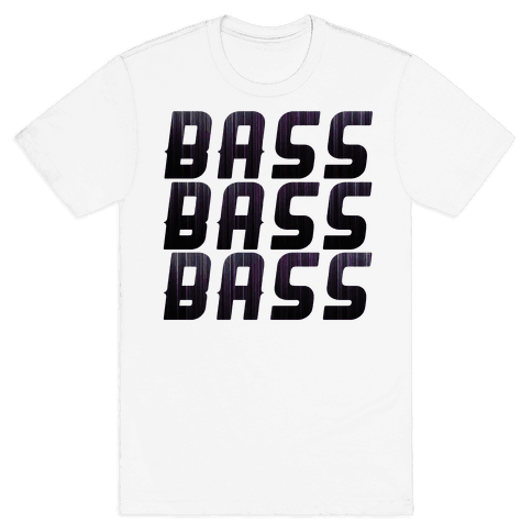 So Much Bass Mens T-Shirt