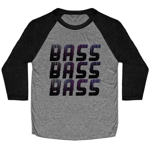 So Much Bass Baseball Tee