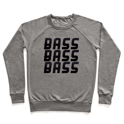 So Much Bass Pullover