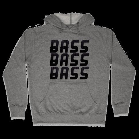 So Much Bass Hooded Sweatshirt