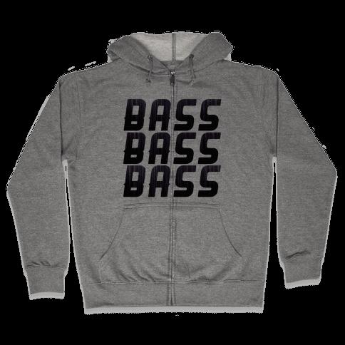 So Much Bass Zip Hoodie