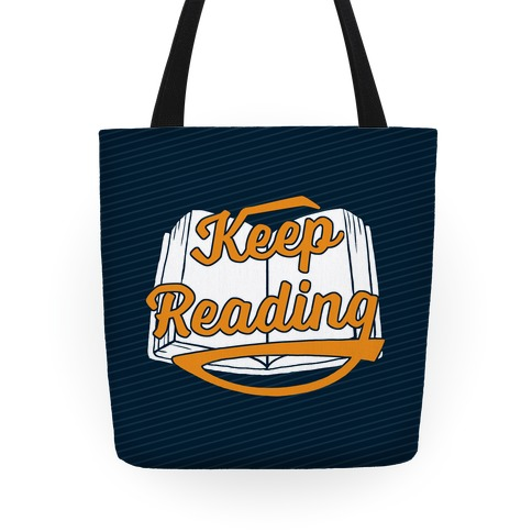 Keep Reading Tote