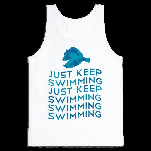 Just Keep Swimming Tank Top