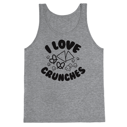 I Love Crunches Tank Top
