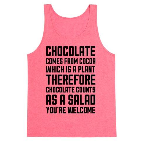 Chocolate Salad Tank Top