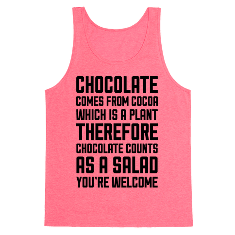 Chocolate Salad Tank Top