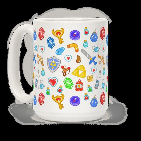 Zelda Items Pattern