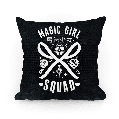 Magic Girl Squad Pillow