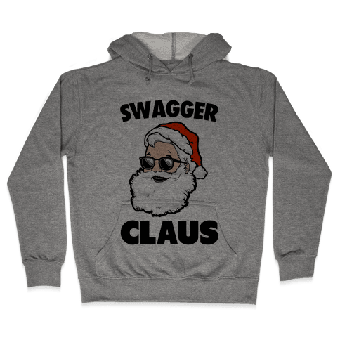 Swagger Claus Hooded Sweatshirt