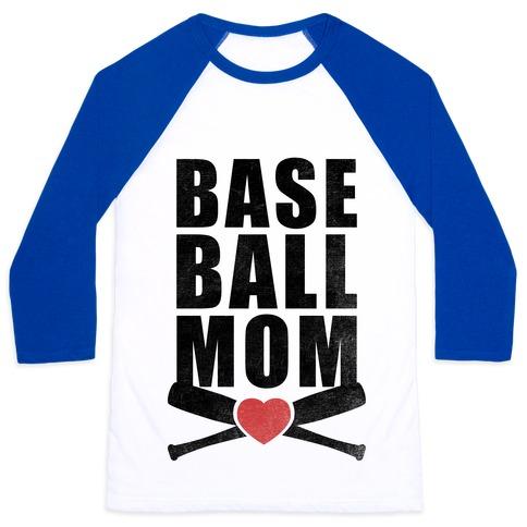Baseball Mom Baseball Tee