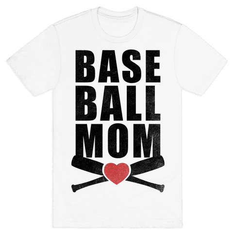 Baseball Mom Mens T-Shirt