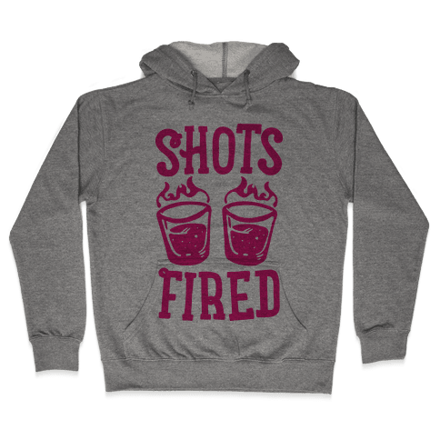 Shots Fired Hooded Sweatshirt