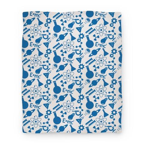 Science Pattern Blanket