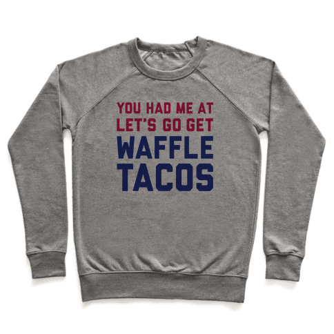 Waffle Tacos Pullover