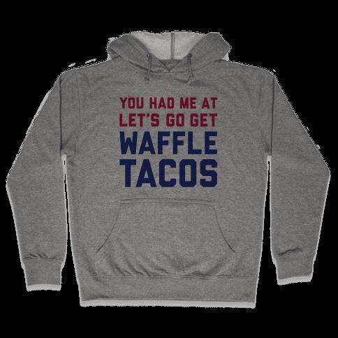 Waffle Tacos Hooded Sweatshirt