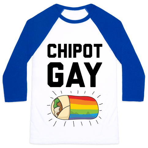 Chipot-Gay Baseball Tee