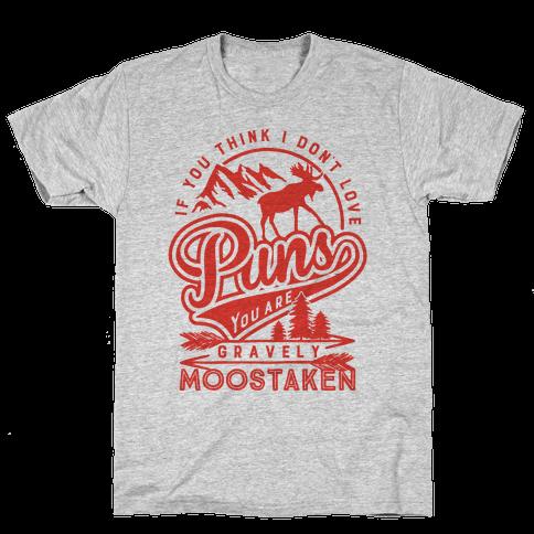Gravely Moostaken Mens T-Shirt