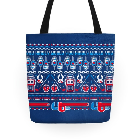 WOULD YOU KINDLY HAVE A MERRY CHRISTMAS Tote