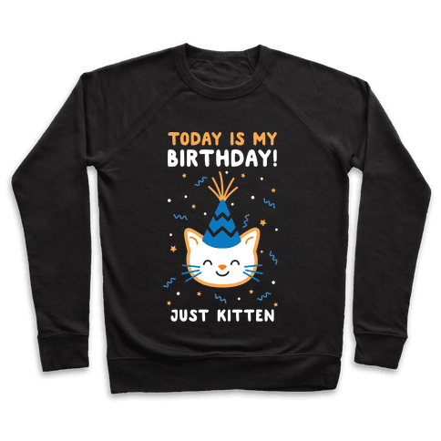 Today's My Birthday, Just Kitten Pullover