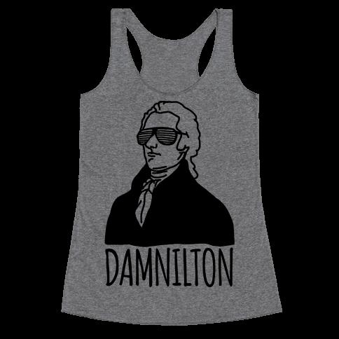 Damnilton Racerback Tank Top