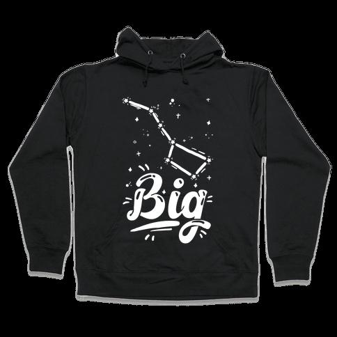 Dippers (Big Dipper) Hooded Sweatshirt