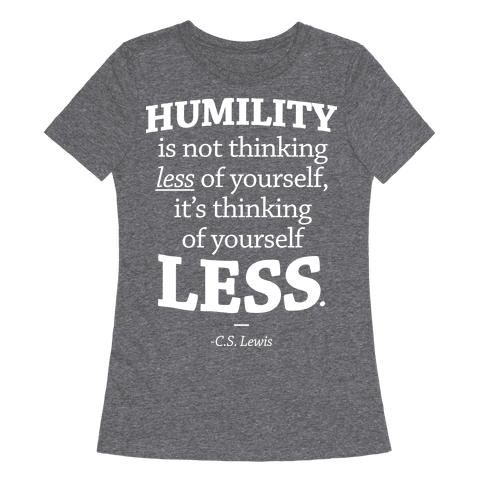 Humility C.S. Lewis