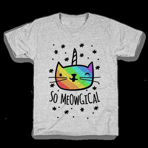 So Meowgical Kids T-Shirt