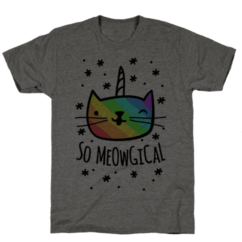 So Meowgical Mens T-Shirt