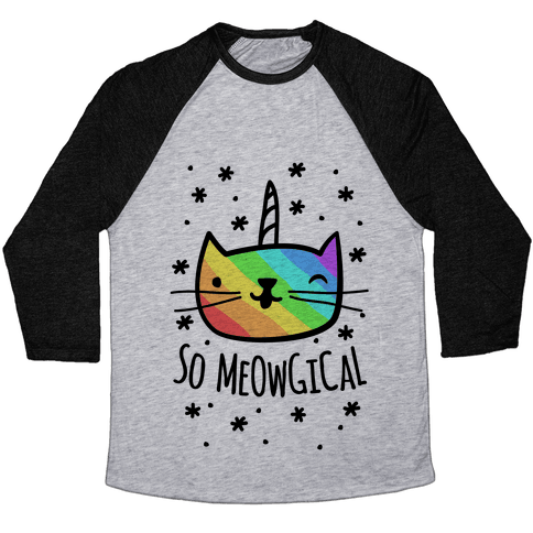 So Meowgical Baseball Tee