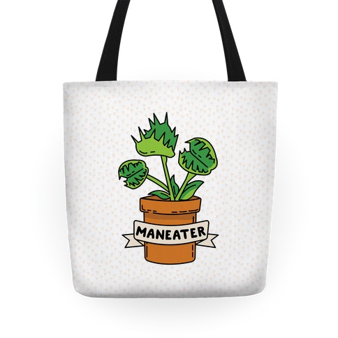 Maneater (Venus Fly Trap) Tote