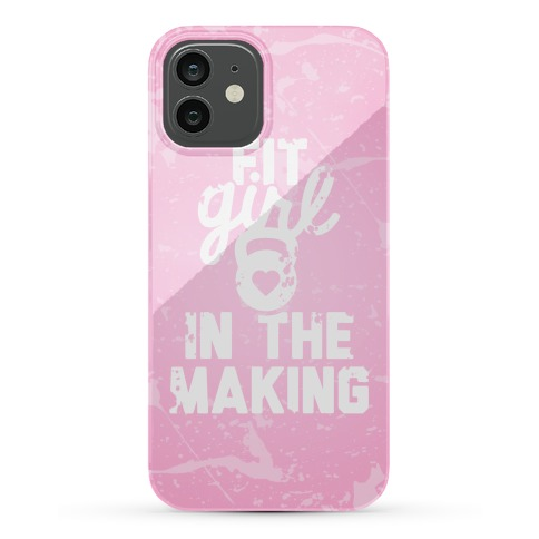Fit Girl In The Making Phone Case