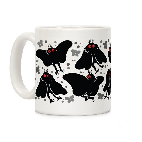 Cute Mothman Pattern Coffee Mug