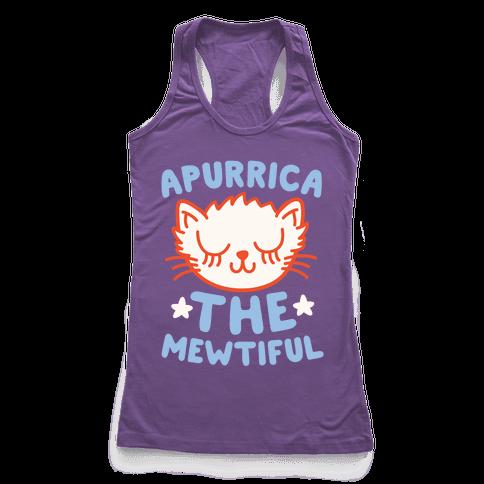 Apurrica The Mewtiful Racerback Tank Top